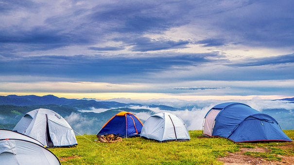 Fujisan Mountain: Camping Tents For Groups