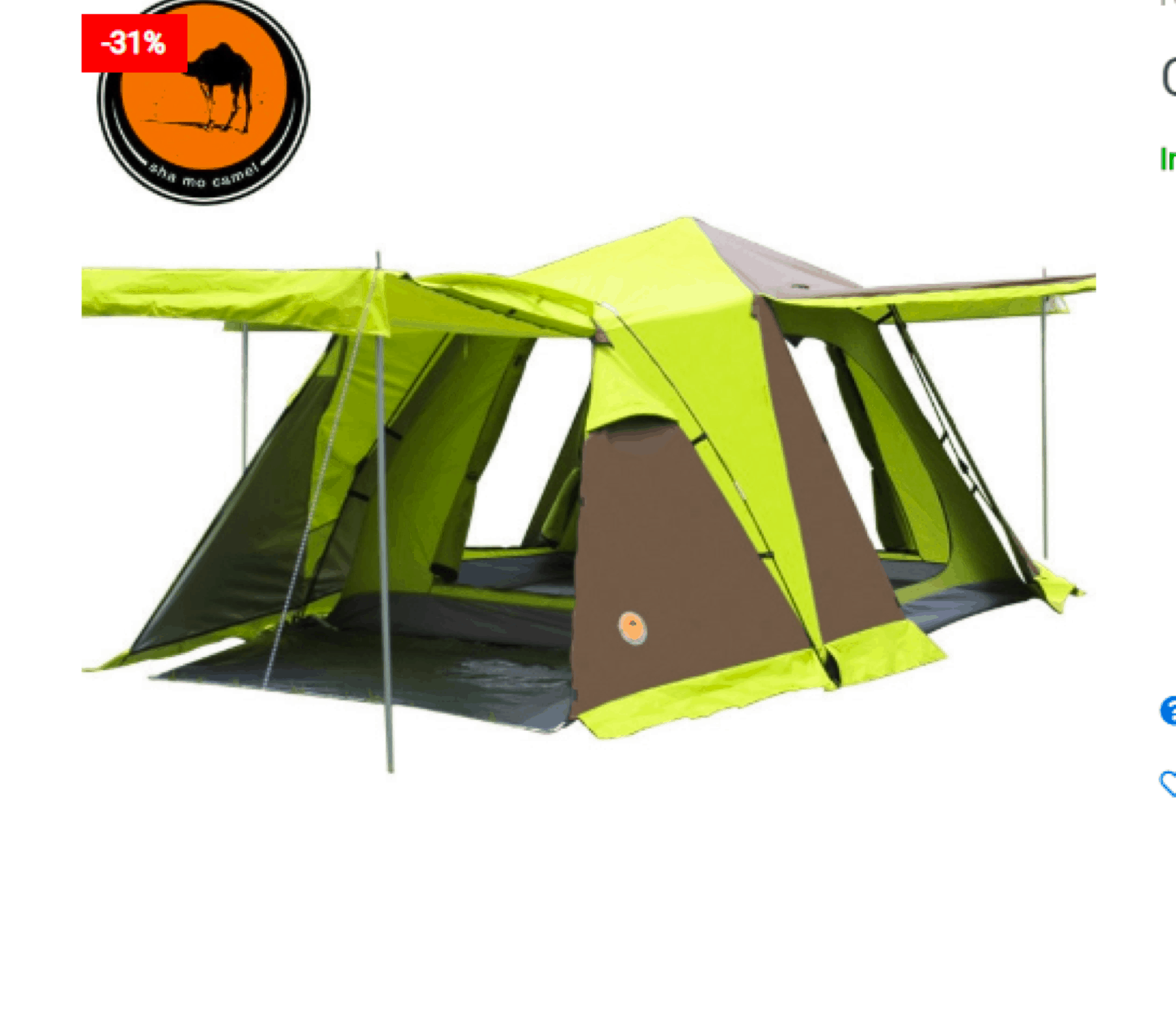 Camping Tent For Groups