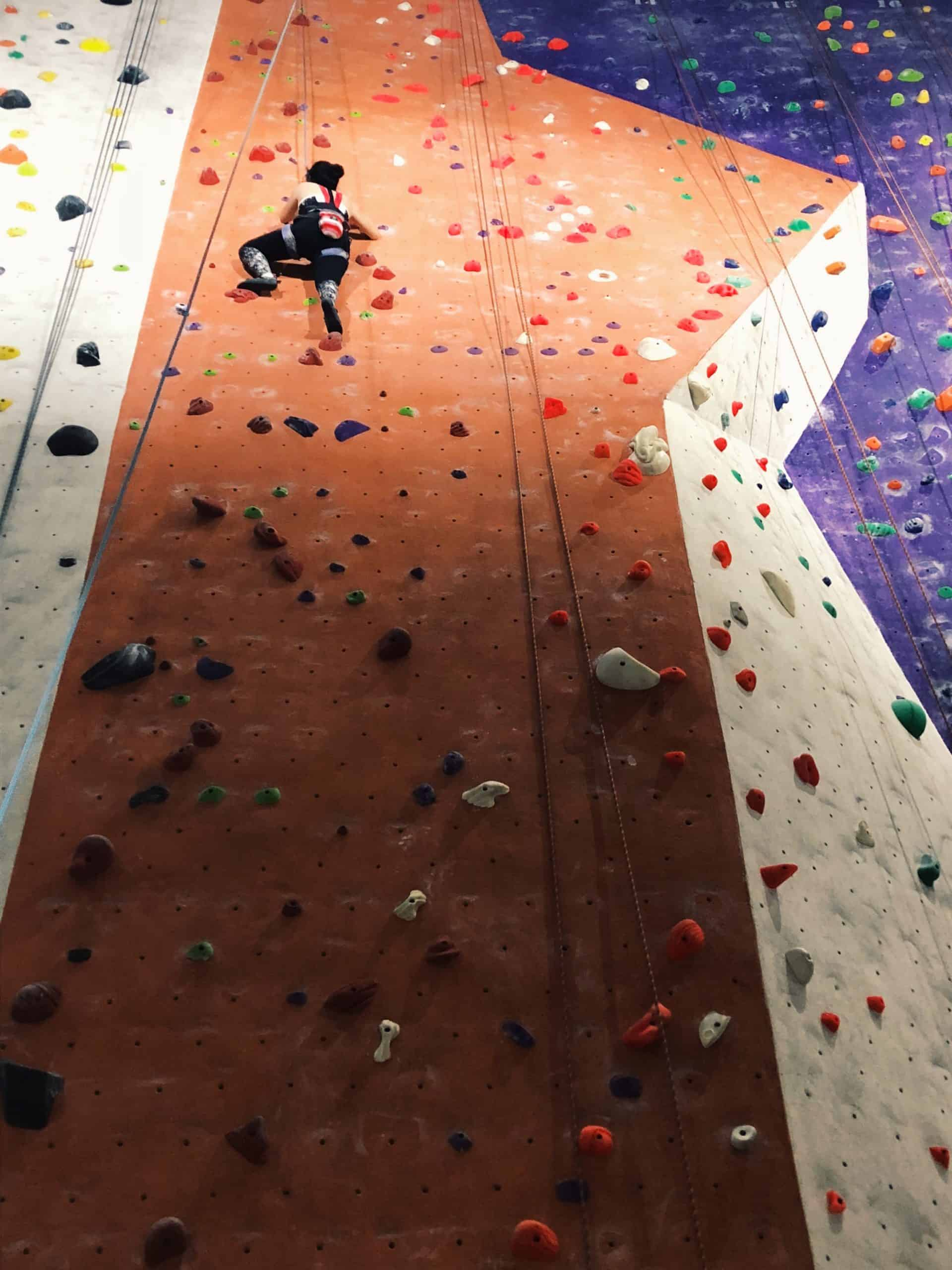 World's Tallest Indoor Climbing Wall In Abu Dhabi