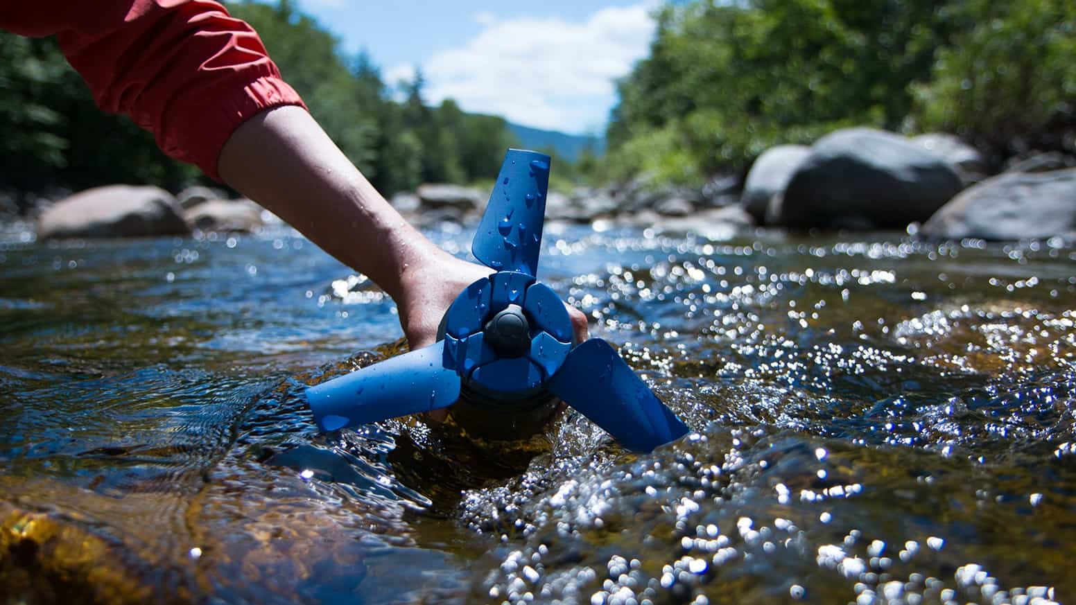 Portable Micro Hydro Generator As Your Power Source