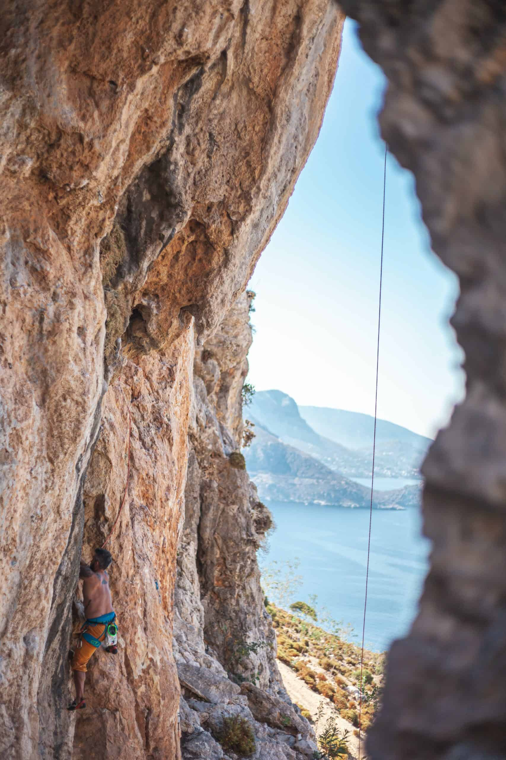 The Causes Of Smearing Climbing Ropes